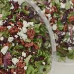 Mixed Field Greens Salad - Ben Blood Photography