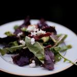 Plated Mixed Field Greens Salad - Rubin Photography