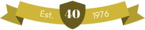 40th anniversary established 1976